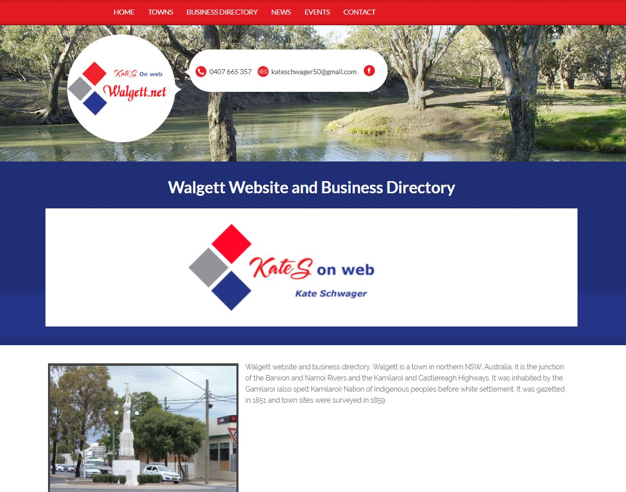 Walgett Website